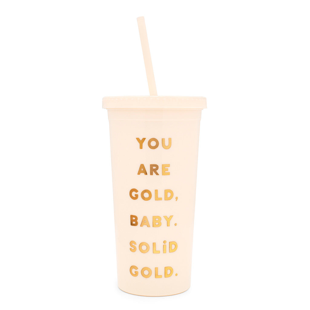 Sip Sip Tumbler - You Are Gold