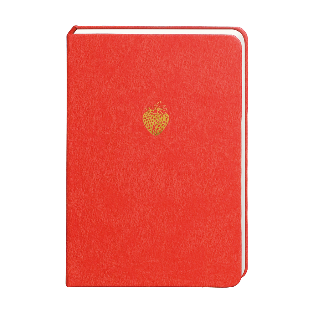 Notebook - Strawberry / Crimson