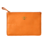 Zip Pouch - Bumble Bee / Tangerine
