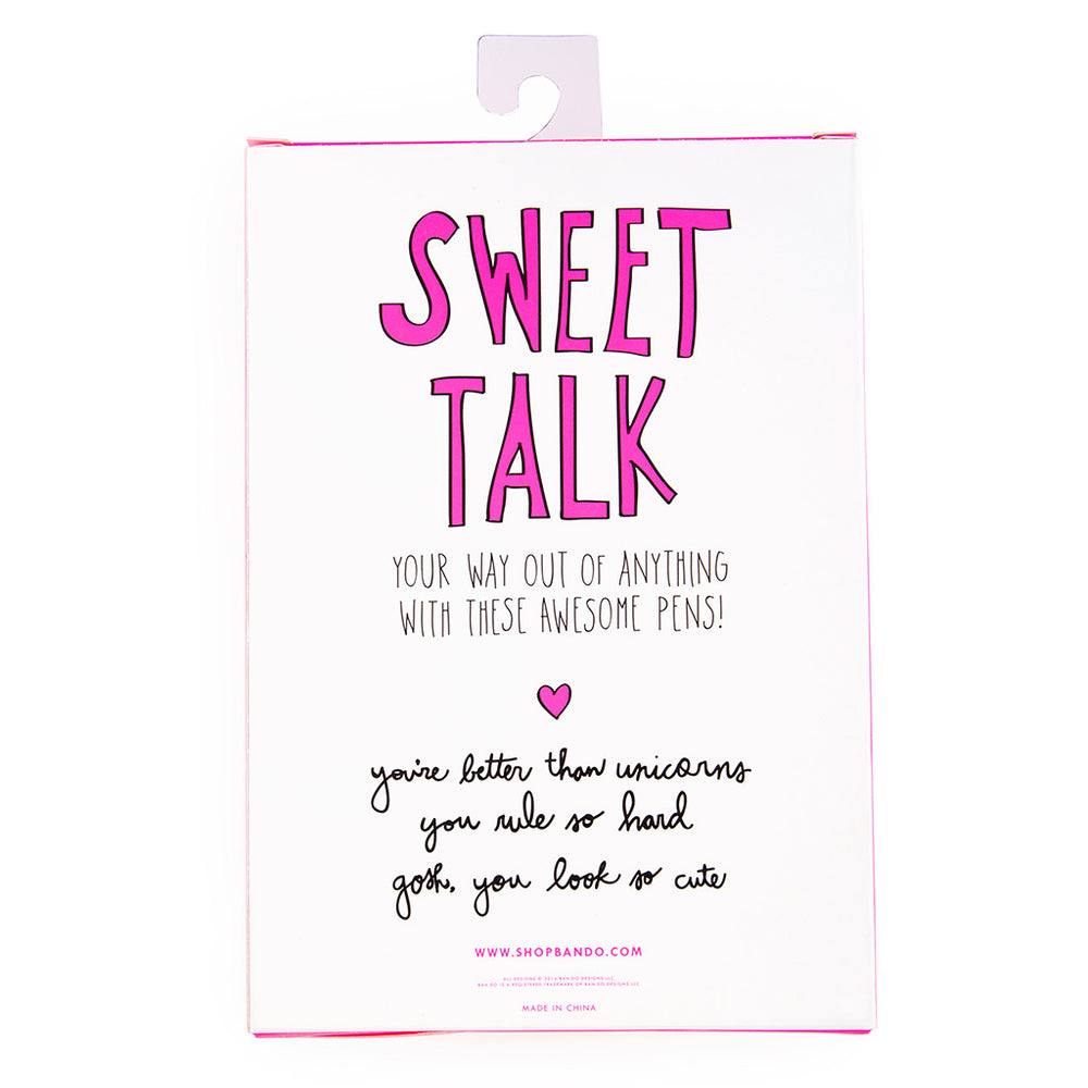 Write On Pen Set - Sweet Talk