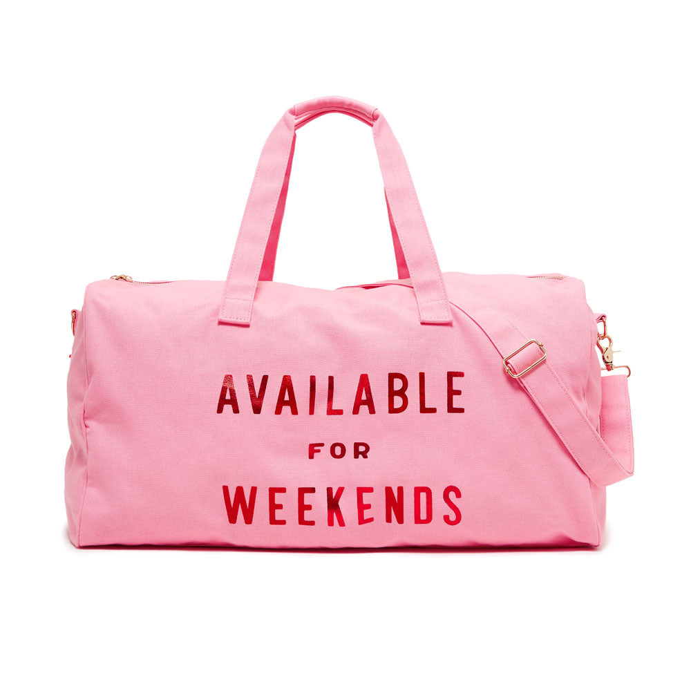 The Getaway Duffle Bag - Available For Weekends