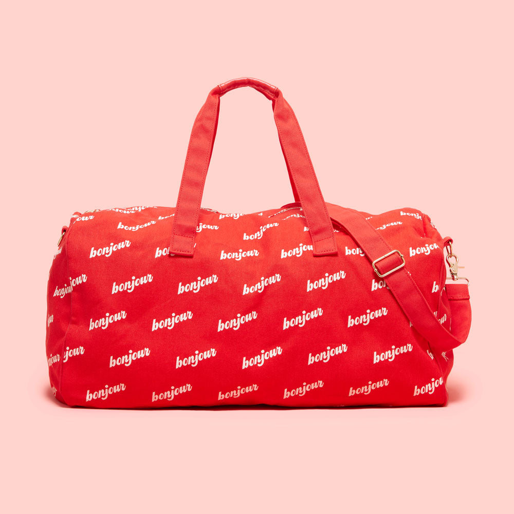The Getaway Duffle Bag - Bonjour