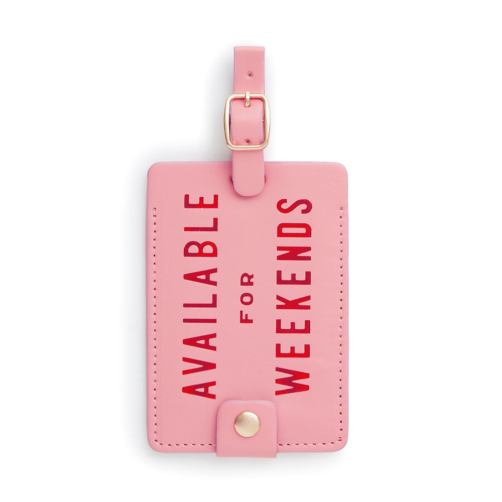 The Getaway Luggage Tag - Available For Weekends