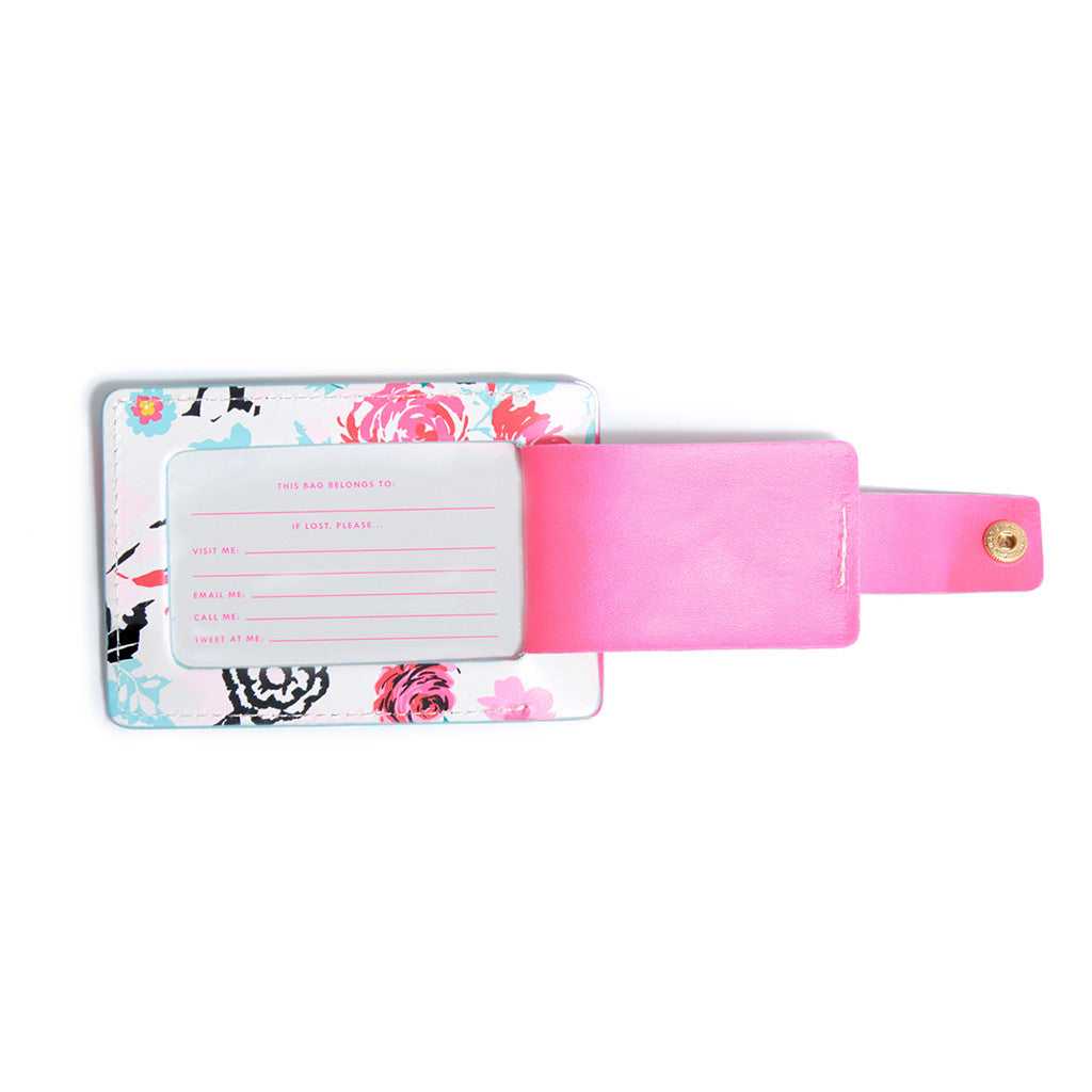 The Getaway Luggage Tag - Florabunda