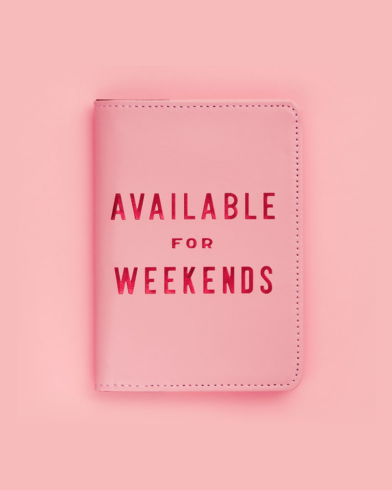 The Getaway Passport Holder - Available For Weekends