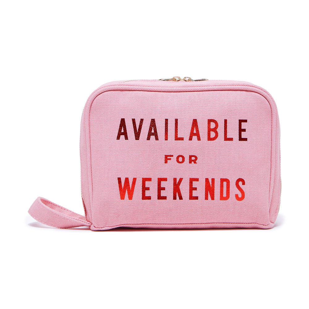 The Getaway Toiletries Bag - Available For Weekends