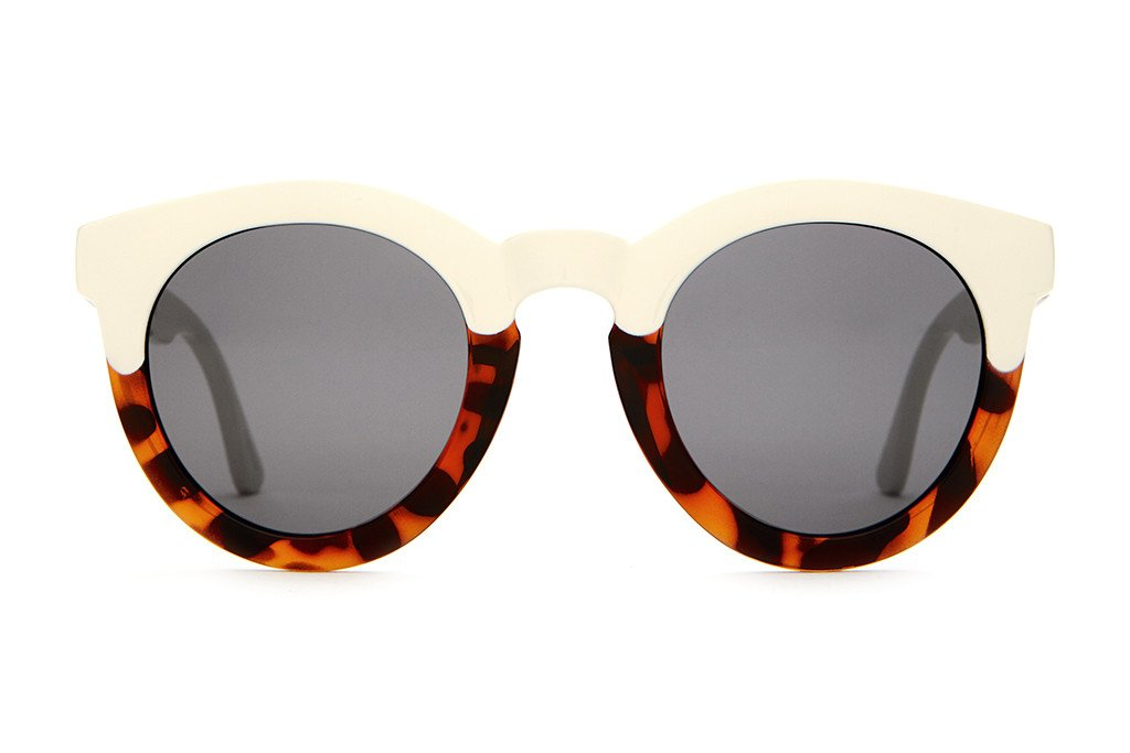 The T.V. Eye - Gloss Brown Tortoise & Cream