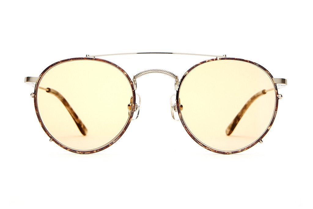 The Tuff Safari - Silver Wire & Espresso Tortoise
