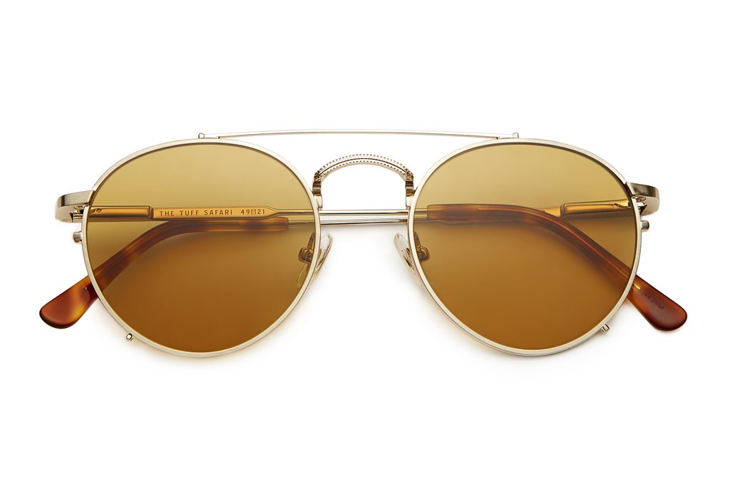 The Tuff Safari - Havana Tortoise Mustard