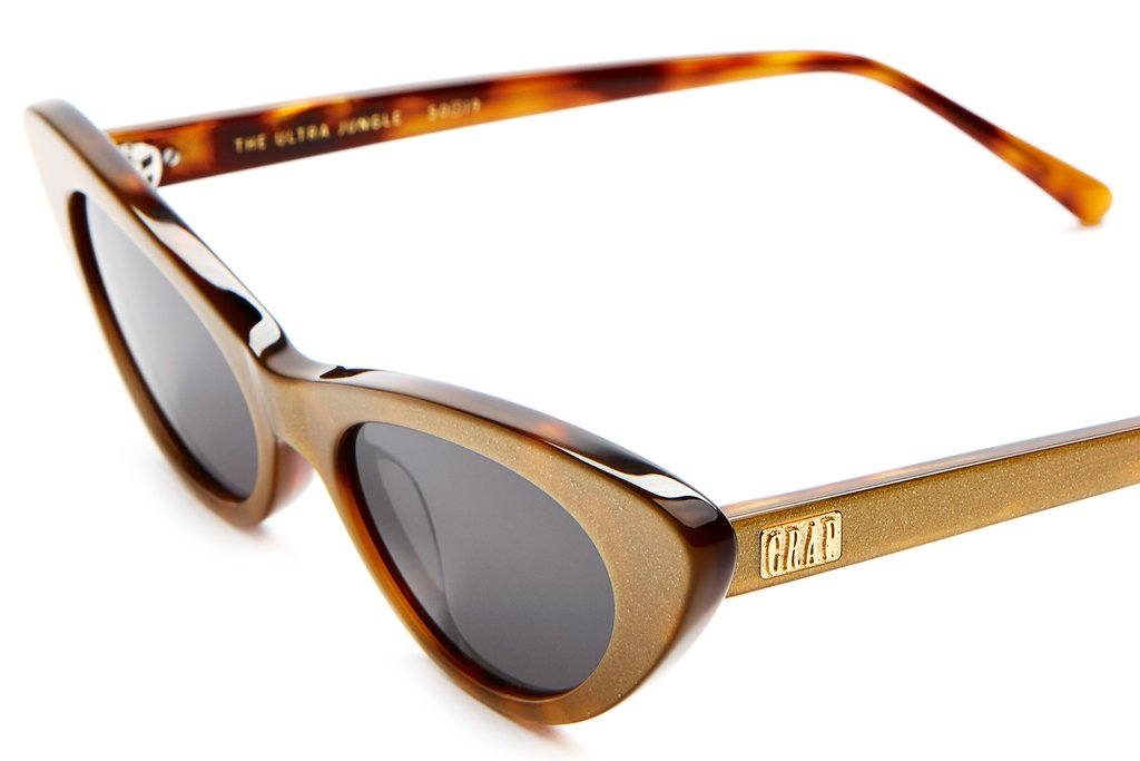 The Ultra Jungle - Gold Glitter & Tortoise