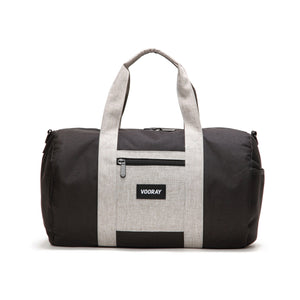 Roadie Duffle - Black Heather Grey