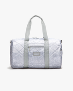 Roadie Duffle - Quilted Gray Nylon