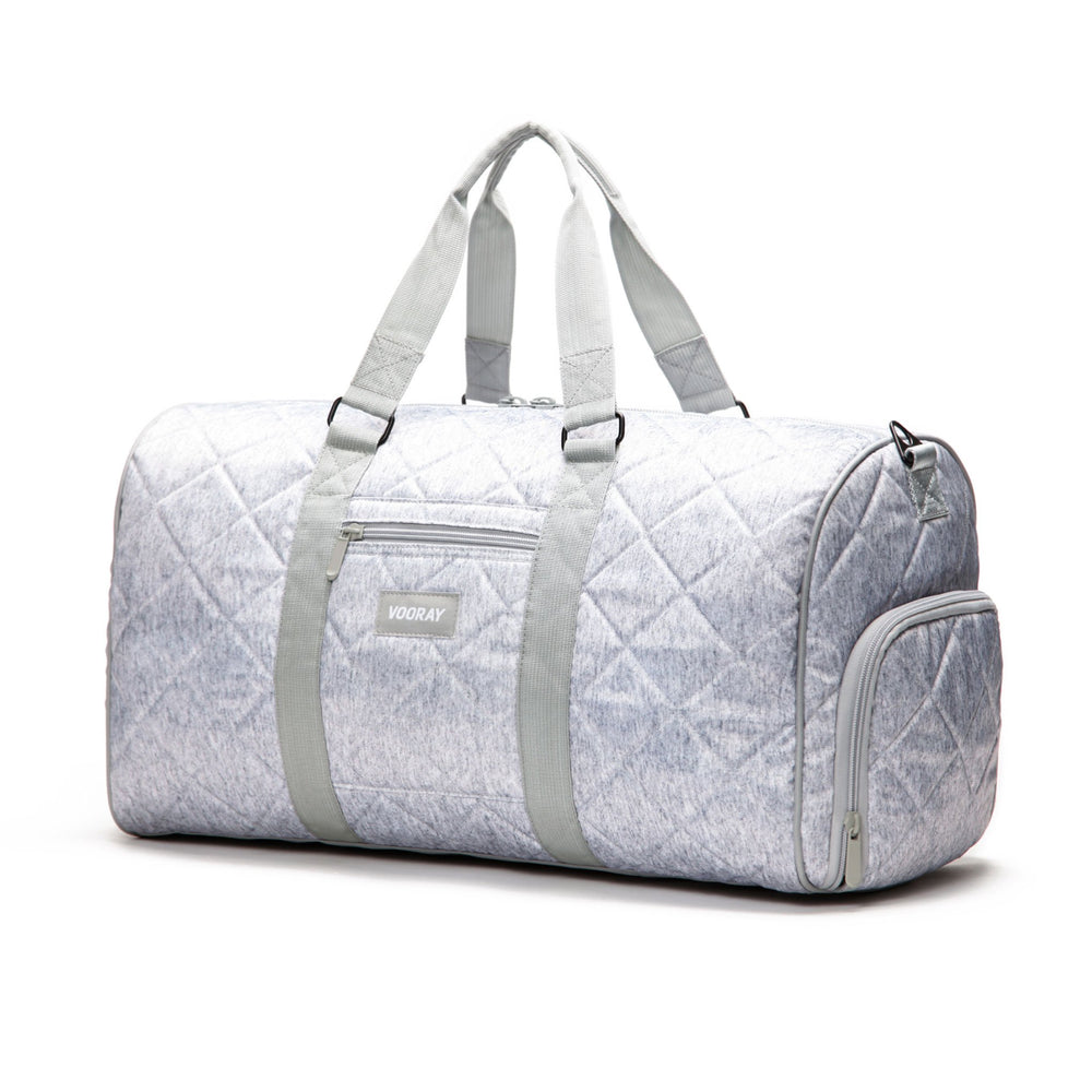 Trepic Weekender Duffle - Quilted Gray Nylon