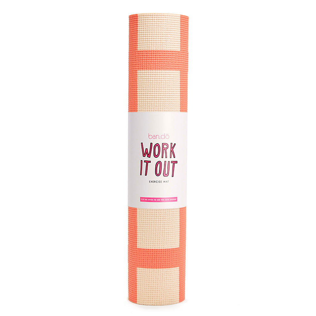 Work It Out Exercise Mat - Lattice