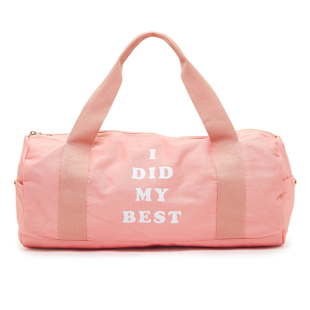 Work It Out Gym Bag - I Did My Best