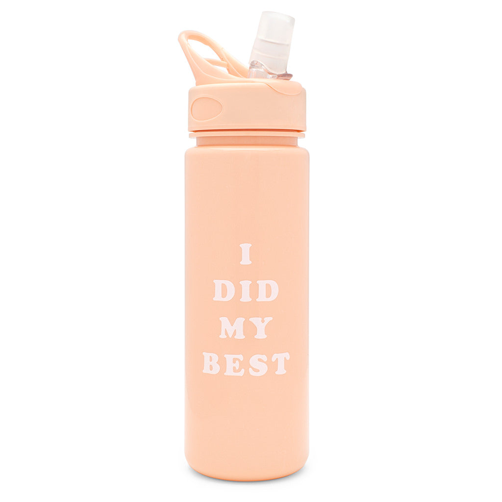 Work It Out Water Bottle - I Did My Best