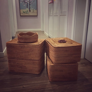 Buyer's Review on the Handmade Woven Baskets
