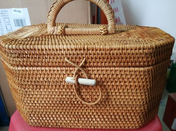 Buyer's Reviews on Vietnam Handmade Rattan Wicker Serving Basket