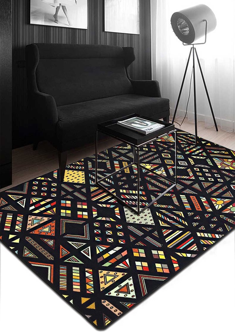 Ethnic Style Nylon Carpet