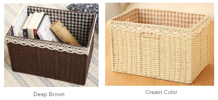 large woven straw basket