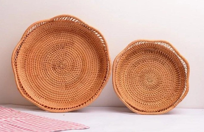 rattan storage baskets, storage basket kitchen, small storage baskets for food and fruit