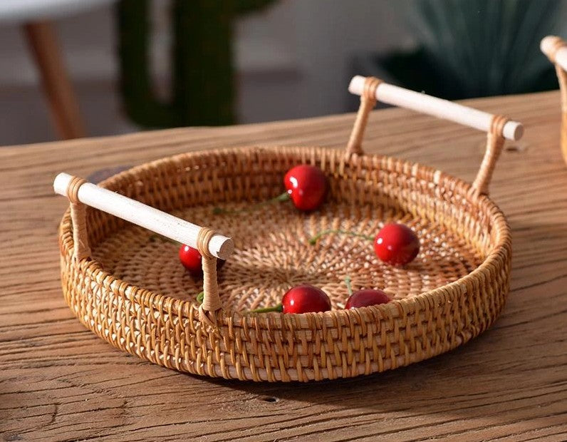 storage basket for kitchen, small storage baskets, rattan storage basket, storage basket for food