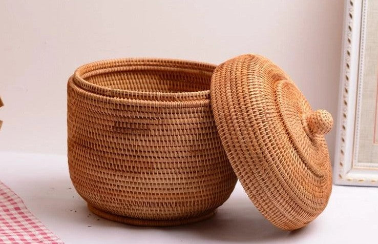storage basket with lip, storage basket for kitchen, small round storage baskets