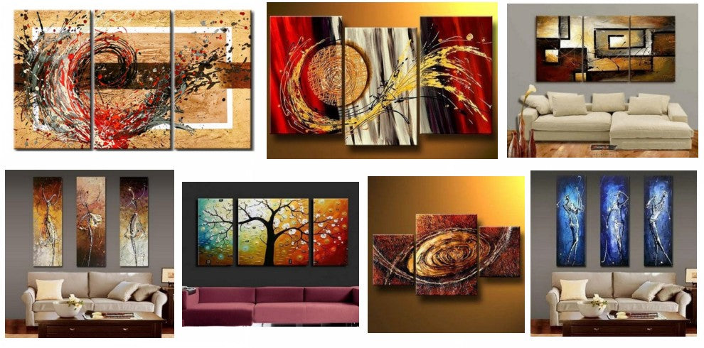 Modern Paintings, Paintings for Living Room, Bedroom Wall Art Paintings, Contemporary Acrylic Paintings, Large Painting for Sale