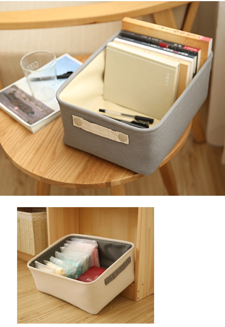 cotton blended storage basket