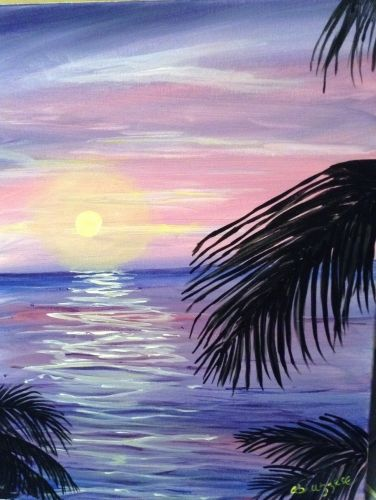 50 Easy DIY Canvas Paintings, Easy Landscape Painting Ideas for Beginners, Seascape Paintings, Simple Oil Painting Techniques