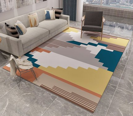 Contemporary Geometric Pattern Carpet
