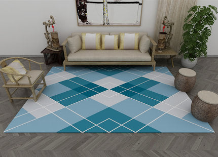 Contemporary Geometric Pattern Carpet C-4