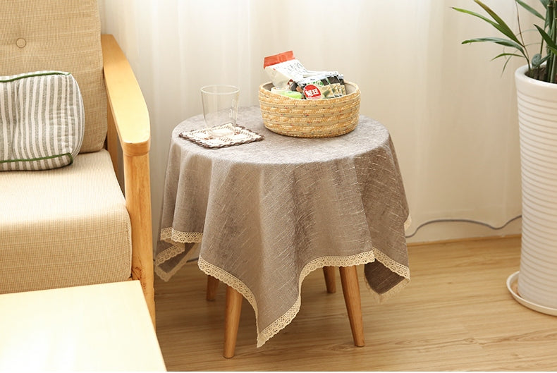 Light Grey Tablecloth