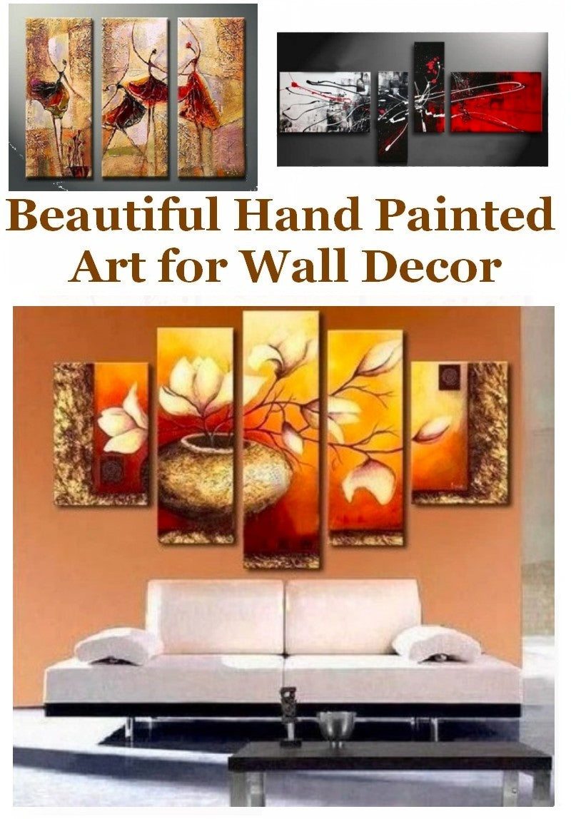Paintings for Living Room, Buy Paintings Online, Hand Painted Canvas Art, Modern Abstract Paintings