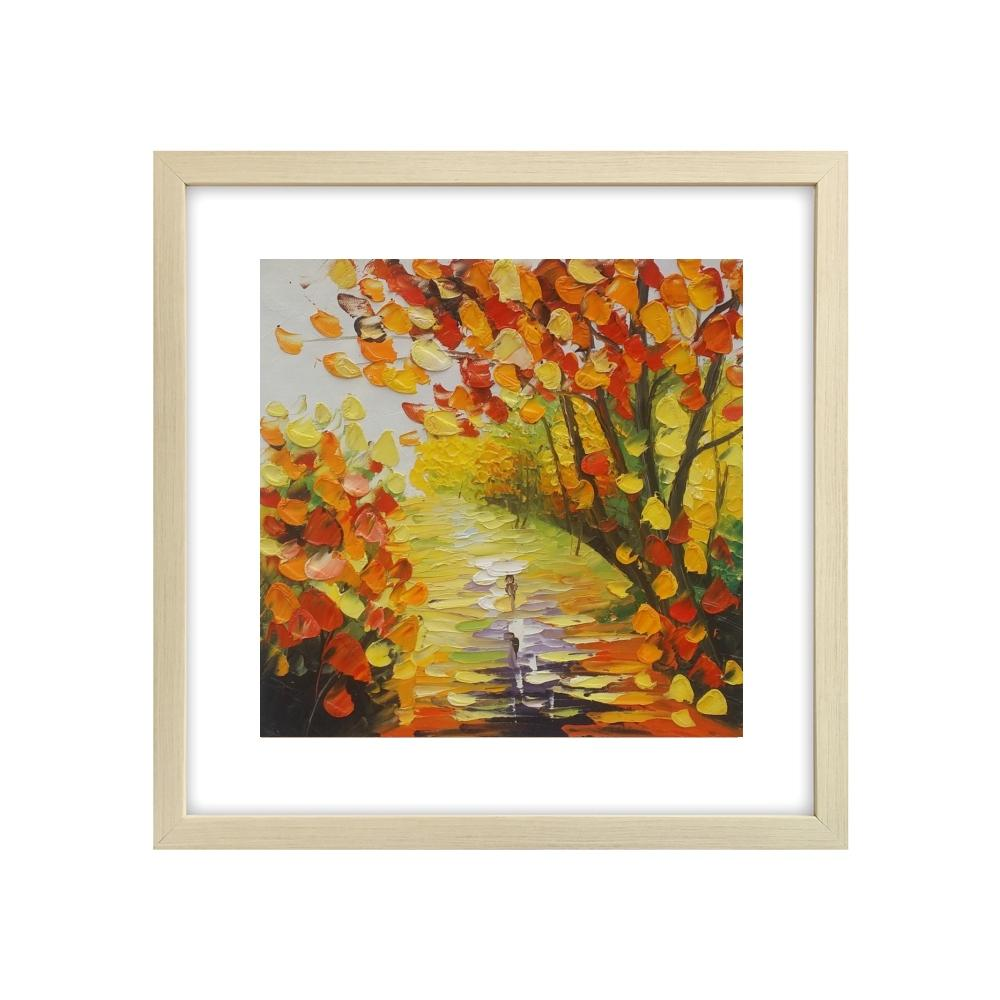 Small Painting, Canvas Painting, Landscape Oil Painting, Lovely Small Art - Silvia Home Craft