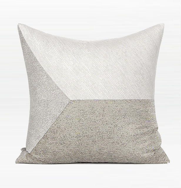 Light Gray Simple Style, Modern Throw Pillow, Pillow Cover with Insert,  Sofa Pillows, Bedroom Pillows, Home Decor