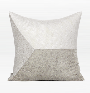 Light Gray Simple Style, Modern Throw Pillow, Pillow Cover with Insert, Sofa Pillows, Bedroom Pillows, Home Decor - Silvia Home Craft