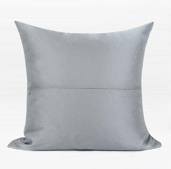 Gray Simple Style, Modern Throw Pillow, Pillow Cover with Insert, Sofa Pillows, Bedroom Pillows, Home Decor - Silvia Home Craft