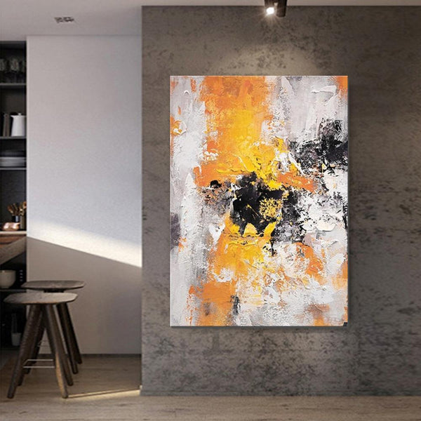 Abstract Acrylic Paintings for Living Room, Modern Contemporary Artwork, Buy Paintings Online, Heavy Texture Canvas Art