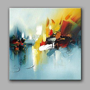 Canvas Painting, Abstract Painting, Wall Art, Oil Painting, Canvas Art, Ready to Hang - Silvia Home Craft