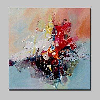 Wall Art, Oil Painting, Modern Painting, Abstract Painting, Canvas Art, Ready to Hang - Silvia Home Craft