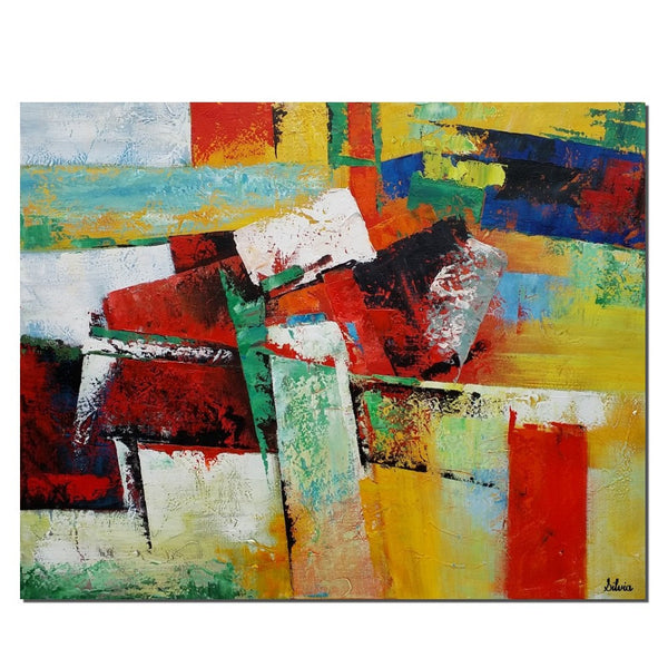 Large Canvas Painting, Contemporary Abstract Wall Art, Acrylic Painting, Original Art