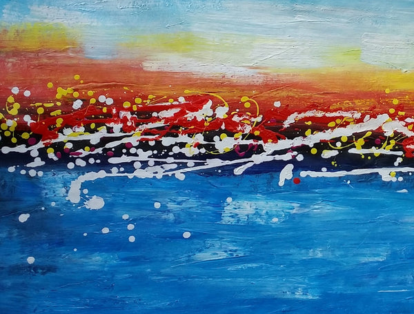 Original Abstract Painting, Canvas Artwork, Abstract Wall Art, Acrylic Art