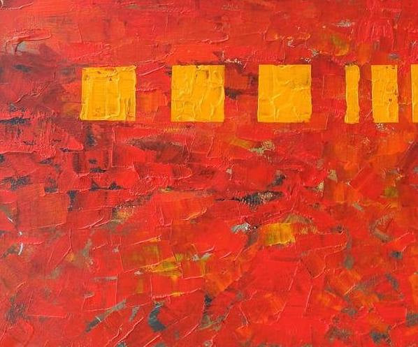 Abstract Art, Original Painting, Original Art, Kitchen Canvas Painting, Abstract Painting