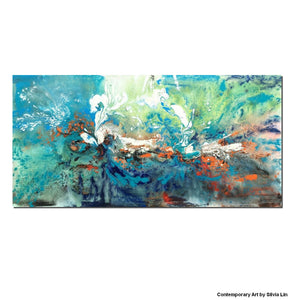 Abstract Painting, Canvas Wall Art, Original Painting, Lots of Texture