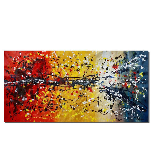 Original Painting, Wall Painting, Canvas Painting, Abstract Wall Art, Art on Canvas - Silvia Home Craft