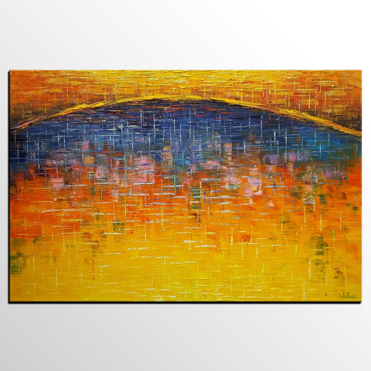 Canvas Art, Abstract Art Painting, Large Oil Painting Living Room Wall Art
