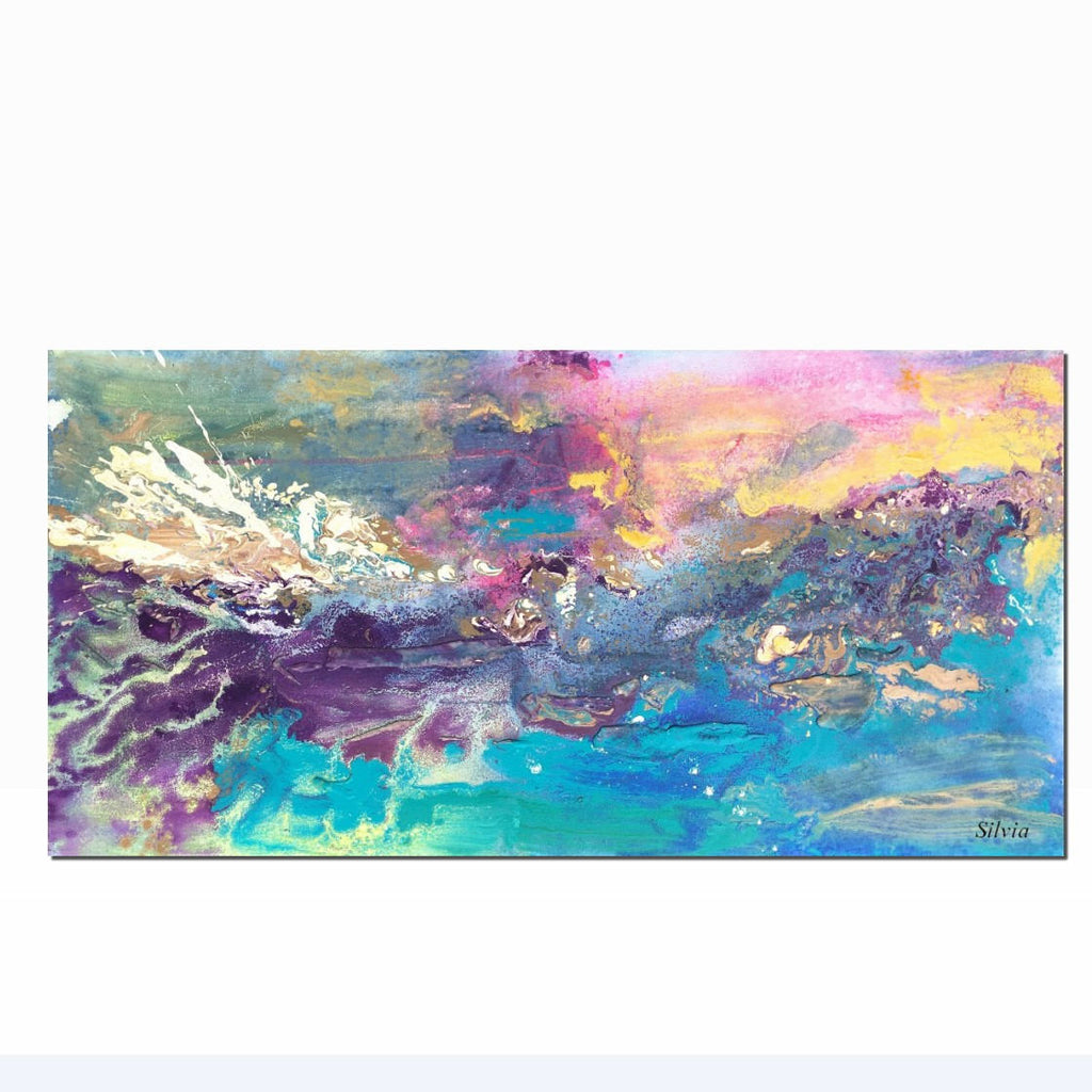 Dining Room Canvas Art Abstract Canvas Painting Large Abstract Art