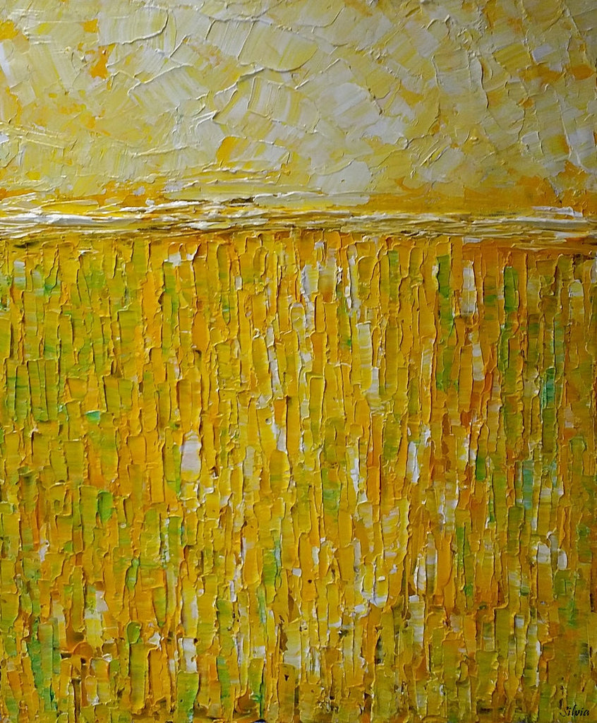 Abstract Wall Art, Original Painting, Heavy Texture Acrylic Painting ...