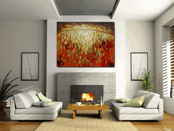 Large Abstract Art, Modern Canvas Art, Oil Painting, Original Painting Abstract
